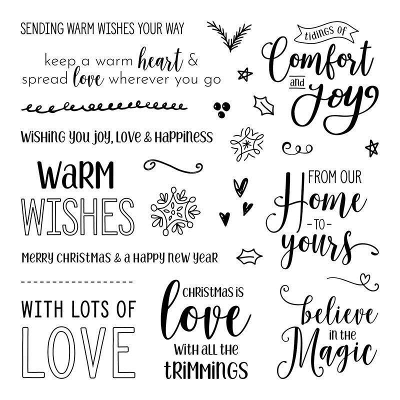 Love with All the Trimmings Stamp Set
