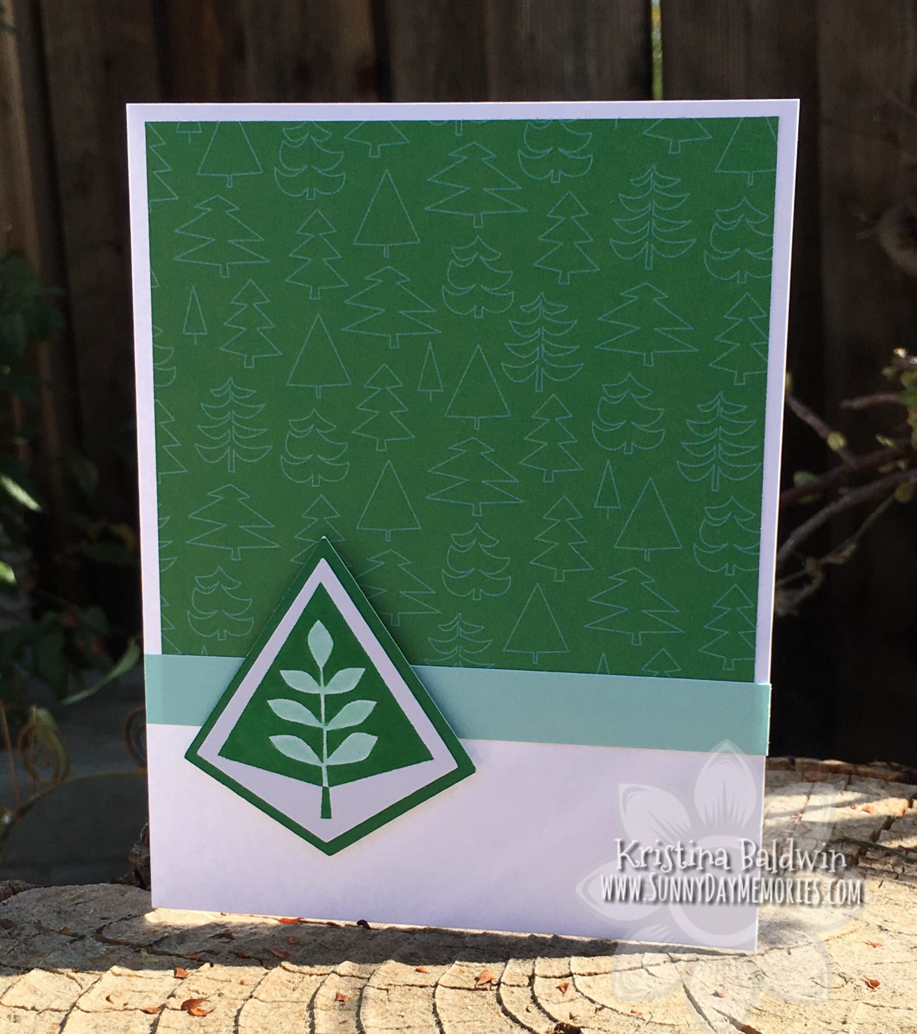 Simple Tree Card