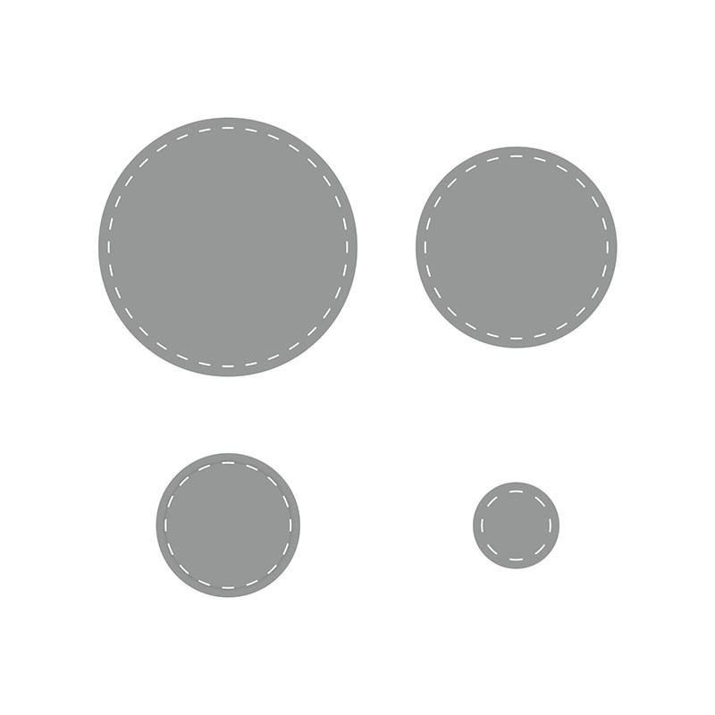 Stitched Circles Thin Cuts Dies