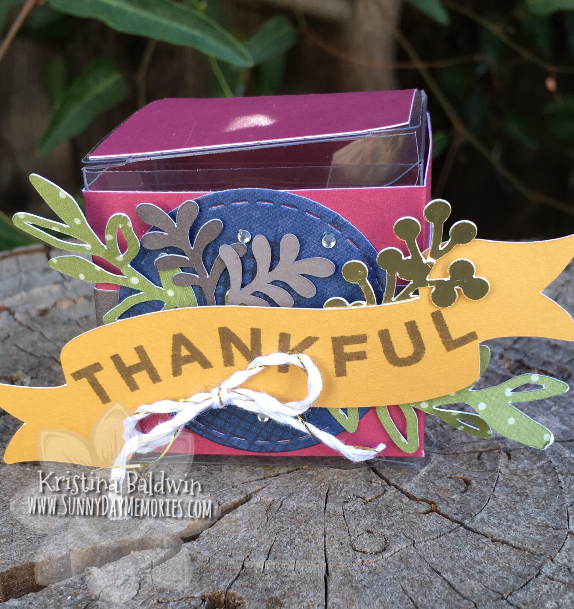 Thanks & Giving Thankful Box