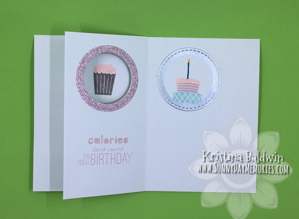 Right Side Interactive Birthday Card