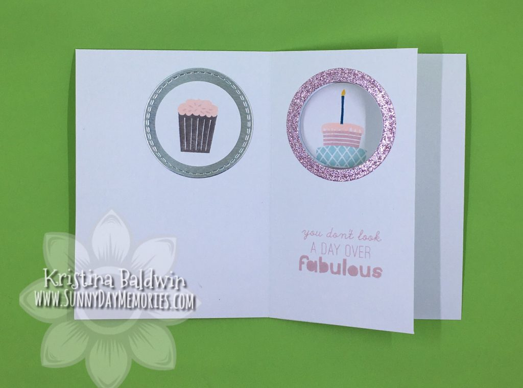 Left Side Interactive Birthday Card