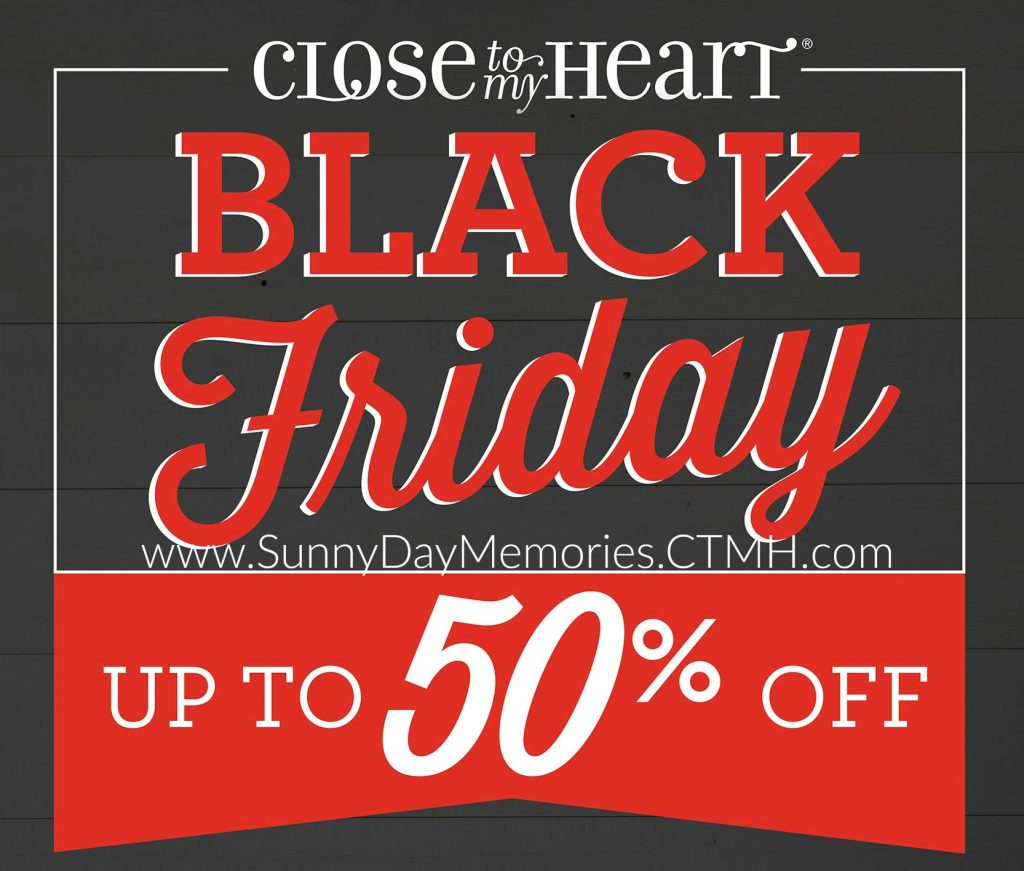 Black Friday CTMH Sale