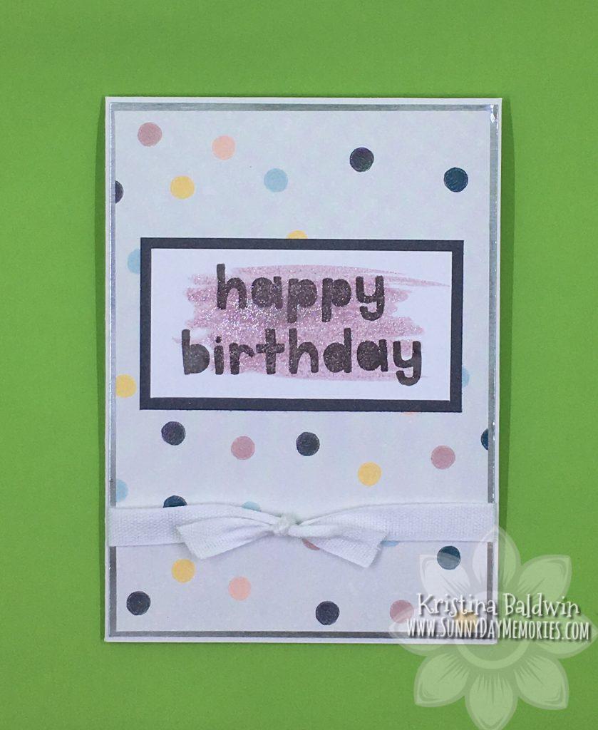 Interactive Birthday Card