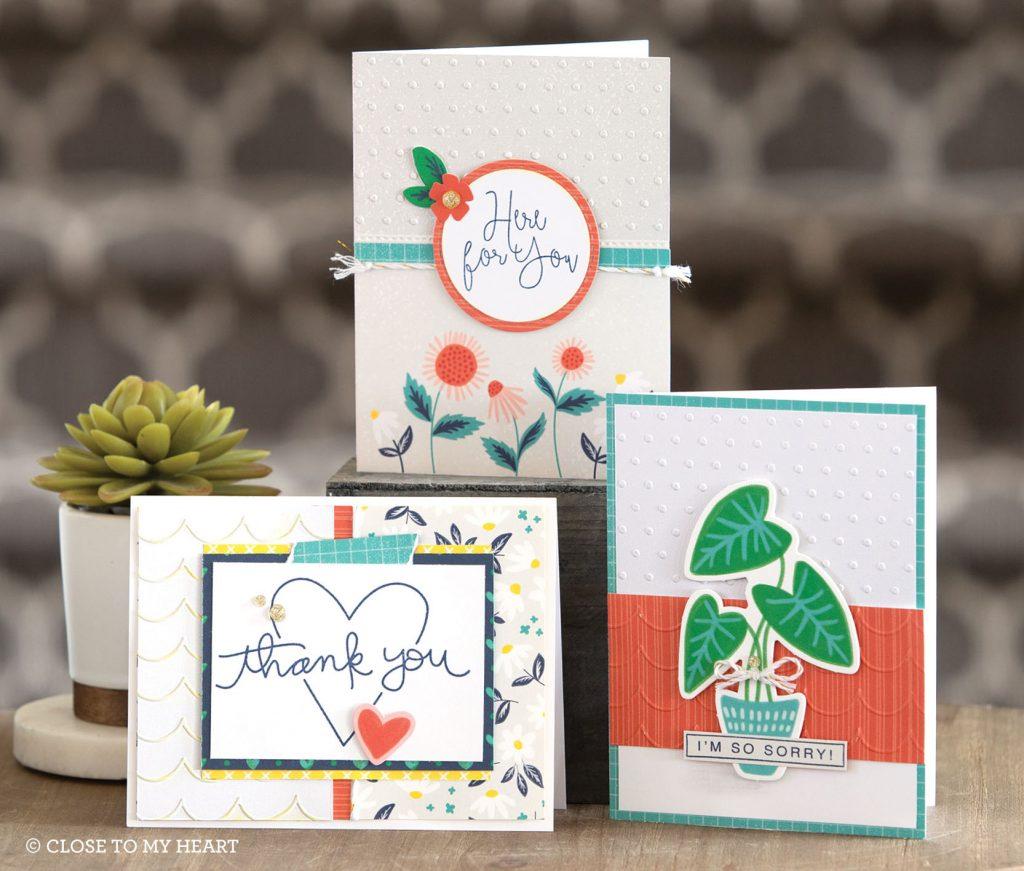 CTMH Seasonal Expressions Card Samples