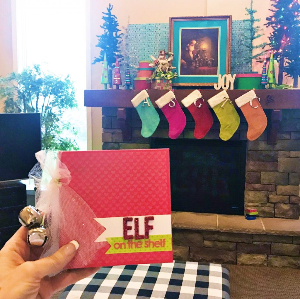 Stacy Julian's Elf on the Shelf Scrapbook