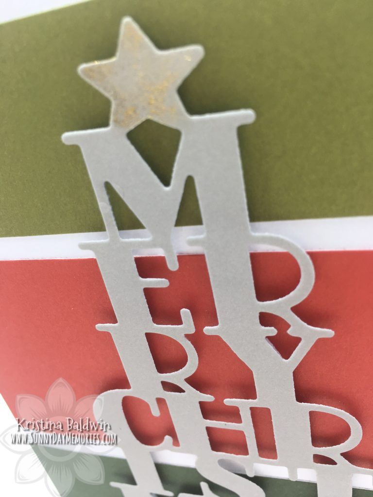 Closeup of Christmas Card