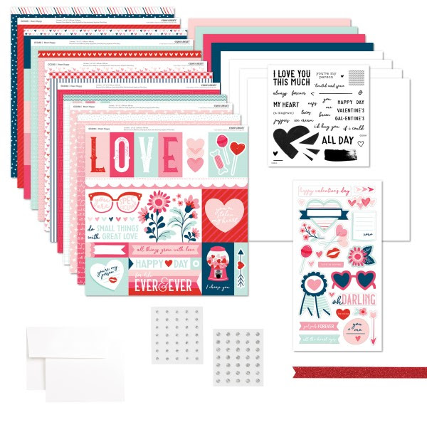 CTMH Heart Happy Kit with Stamp Set