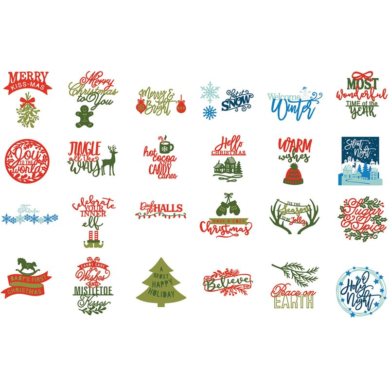 Cricut Season of Joy Images