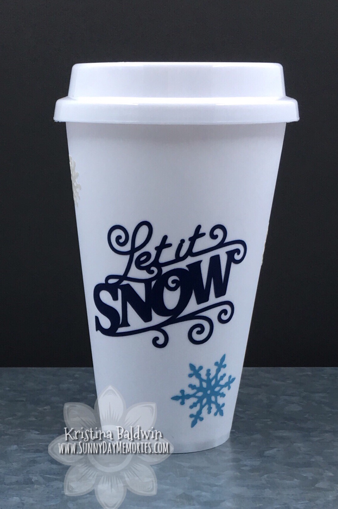 Let it Snow Reusable Cup