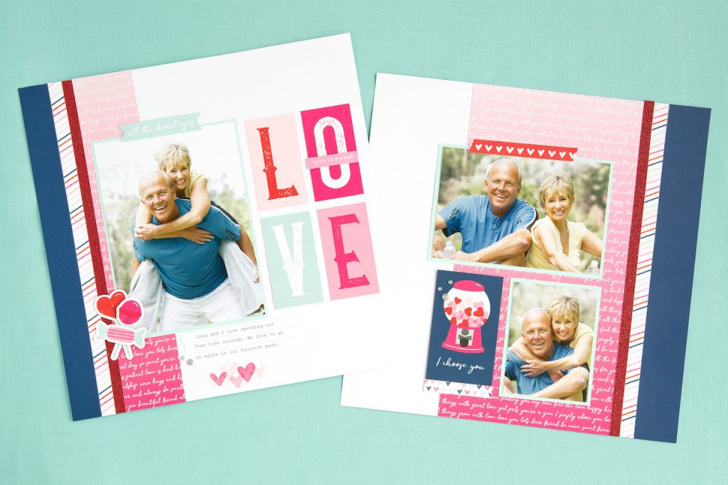 Heart Happy Kit 2-Page Layout
