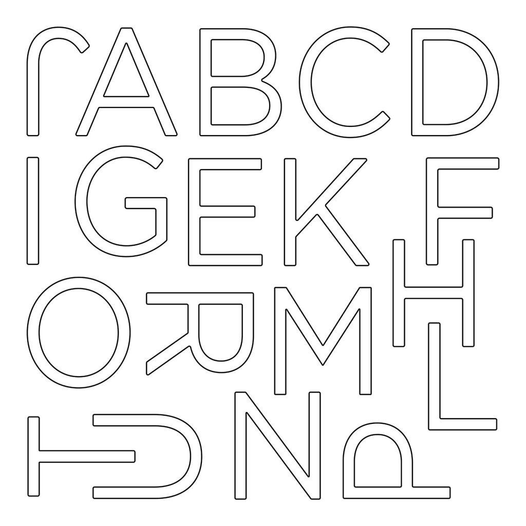 CTMH Outline Classroom Alphabet