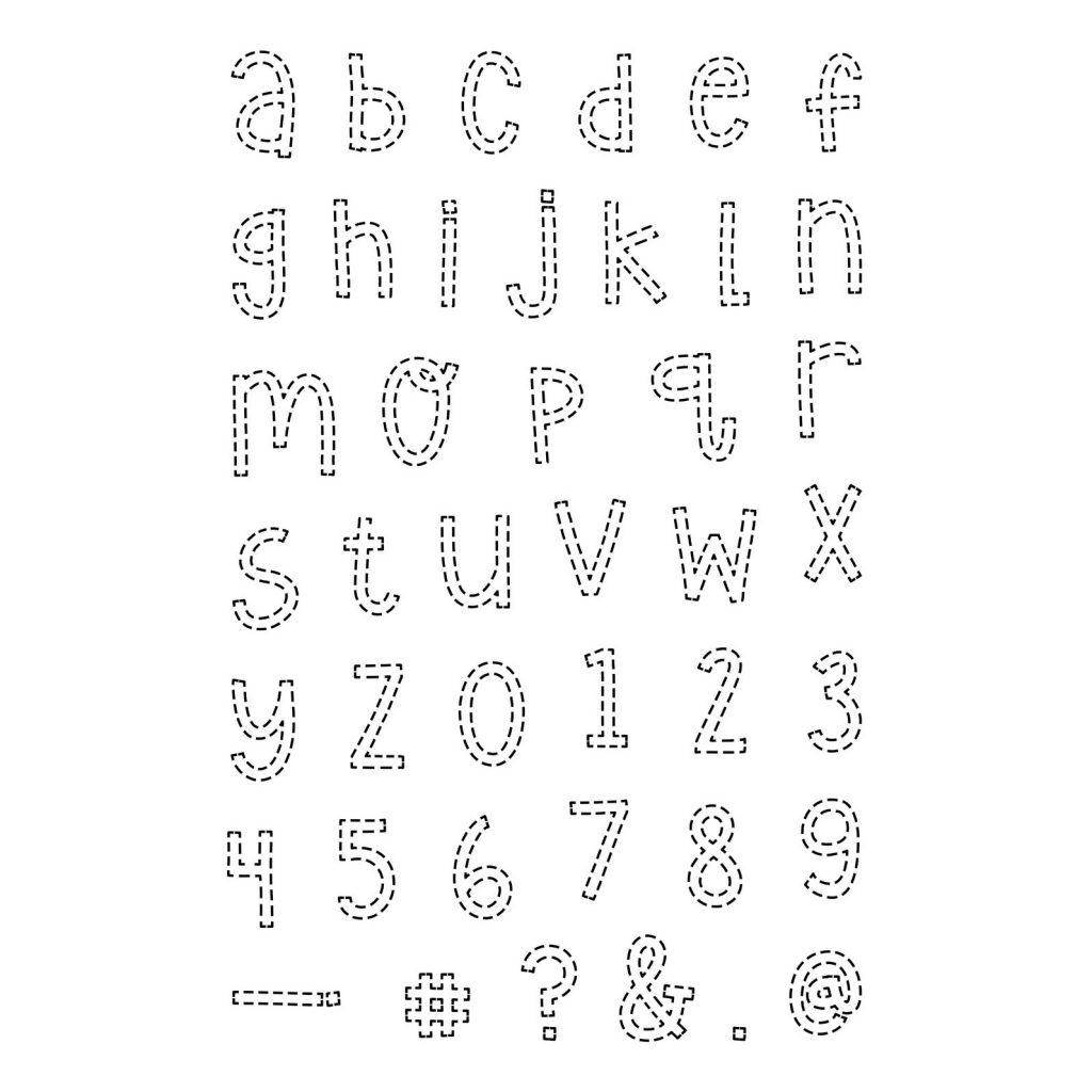 CTMH's Stitched Alphabet