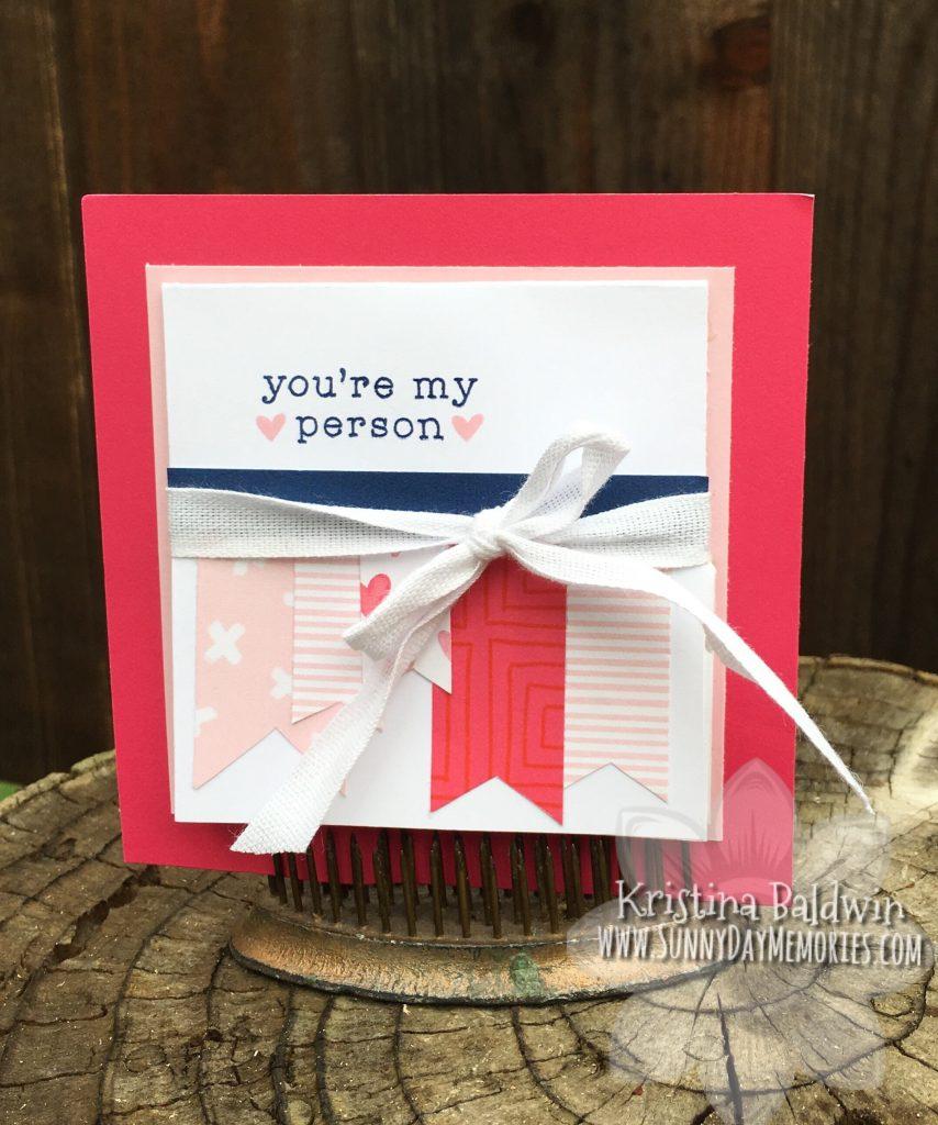 Heart Happy Turkish Fold Card