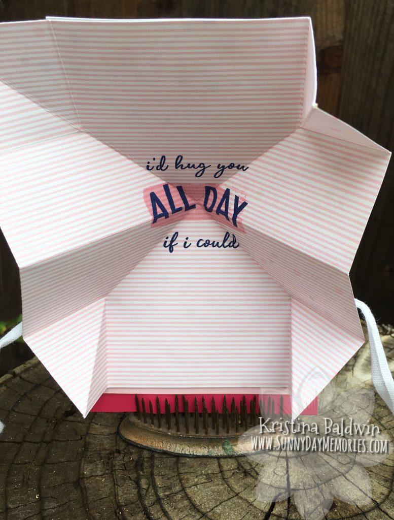 Opened Heart Happy Turkish Fold Card
