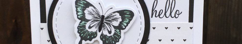 Hello Butterfly Card