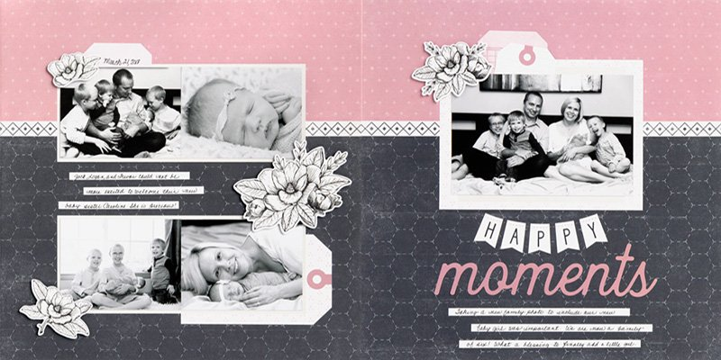 April Craft with Heart Layout