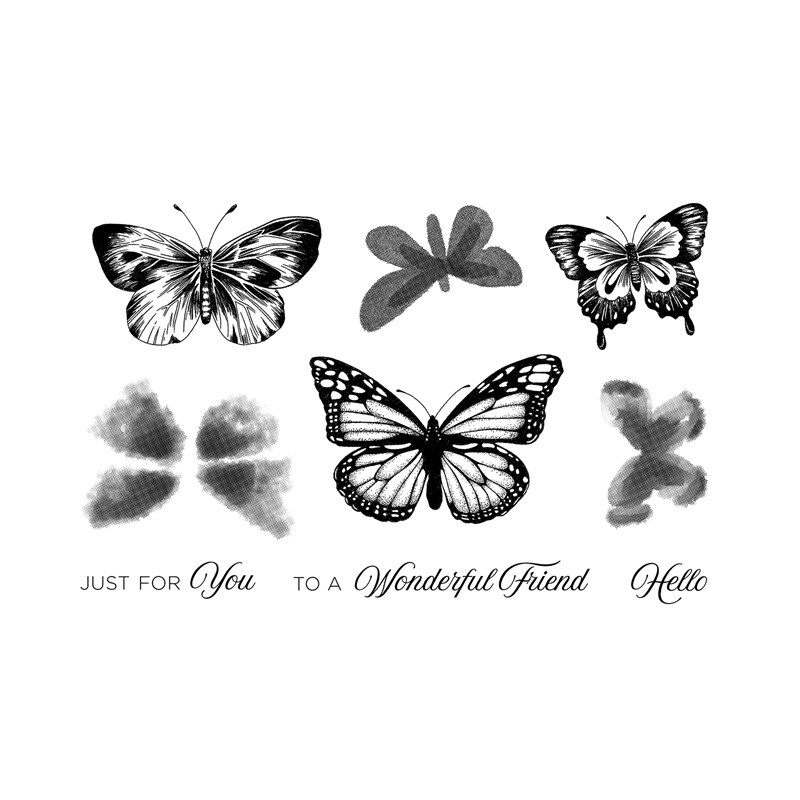 Butterfly Friendship Stamp Set