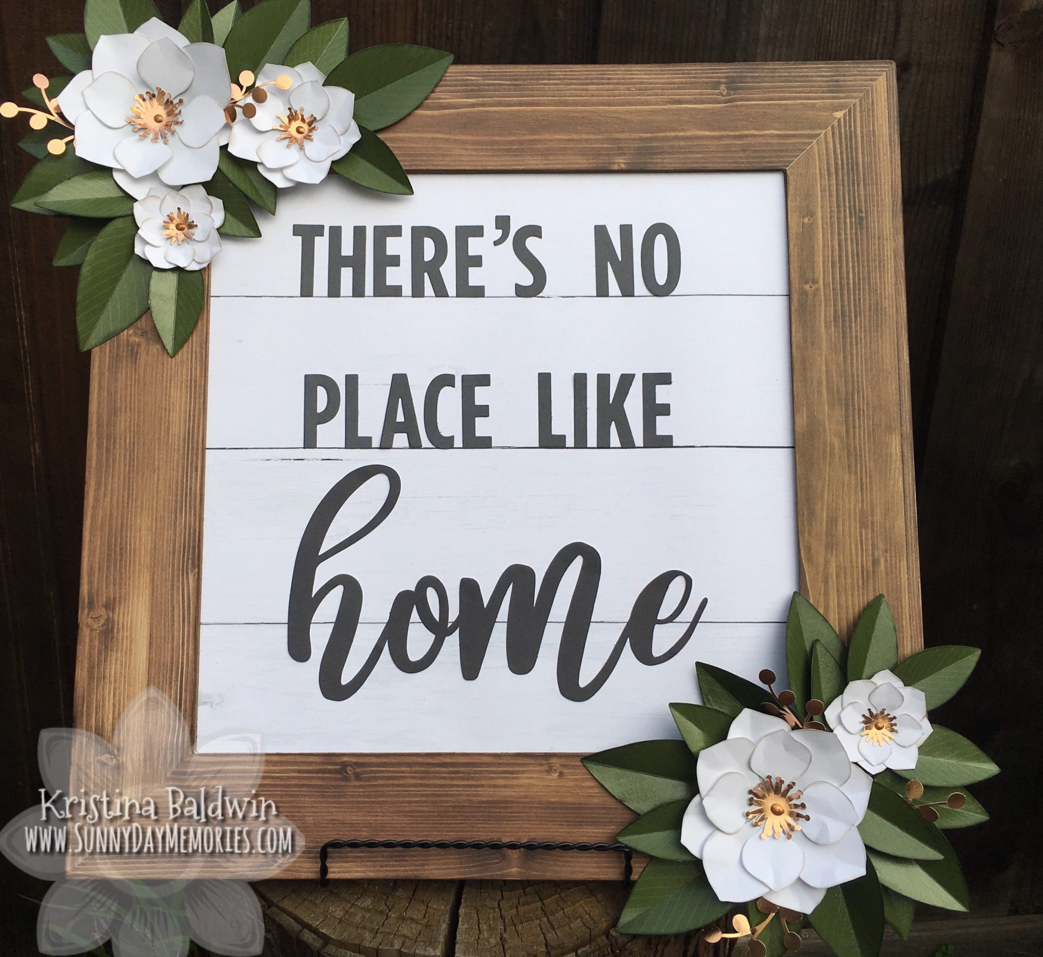 There's No Place Like Home Magnolia Frame