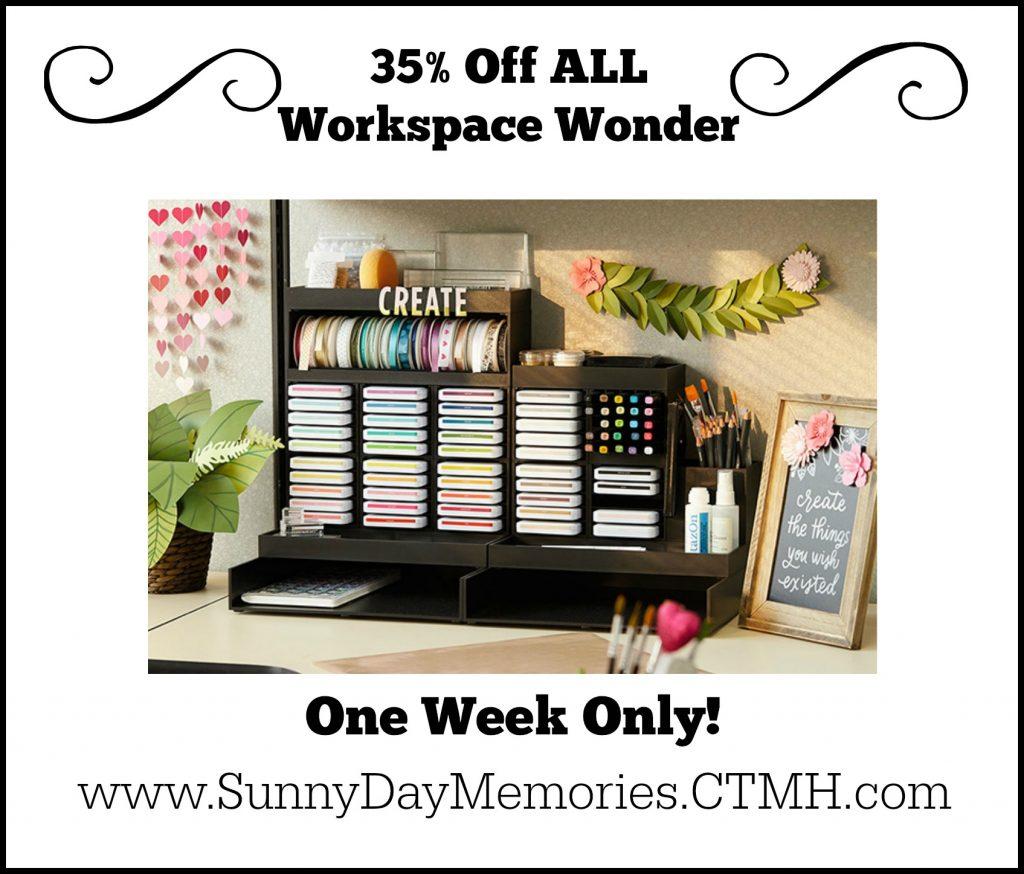 35th Anniversary Special for Workspace Wonder Craft Organization