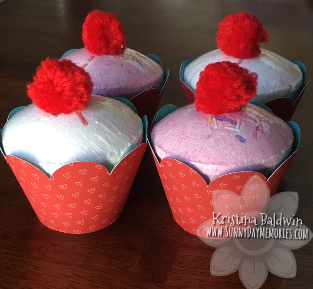 Cricut Artiste Cupcake Bath Bombs
