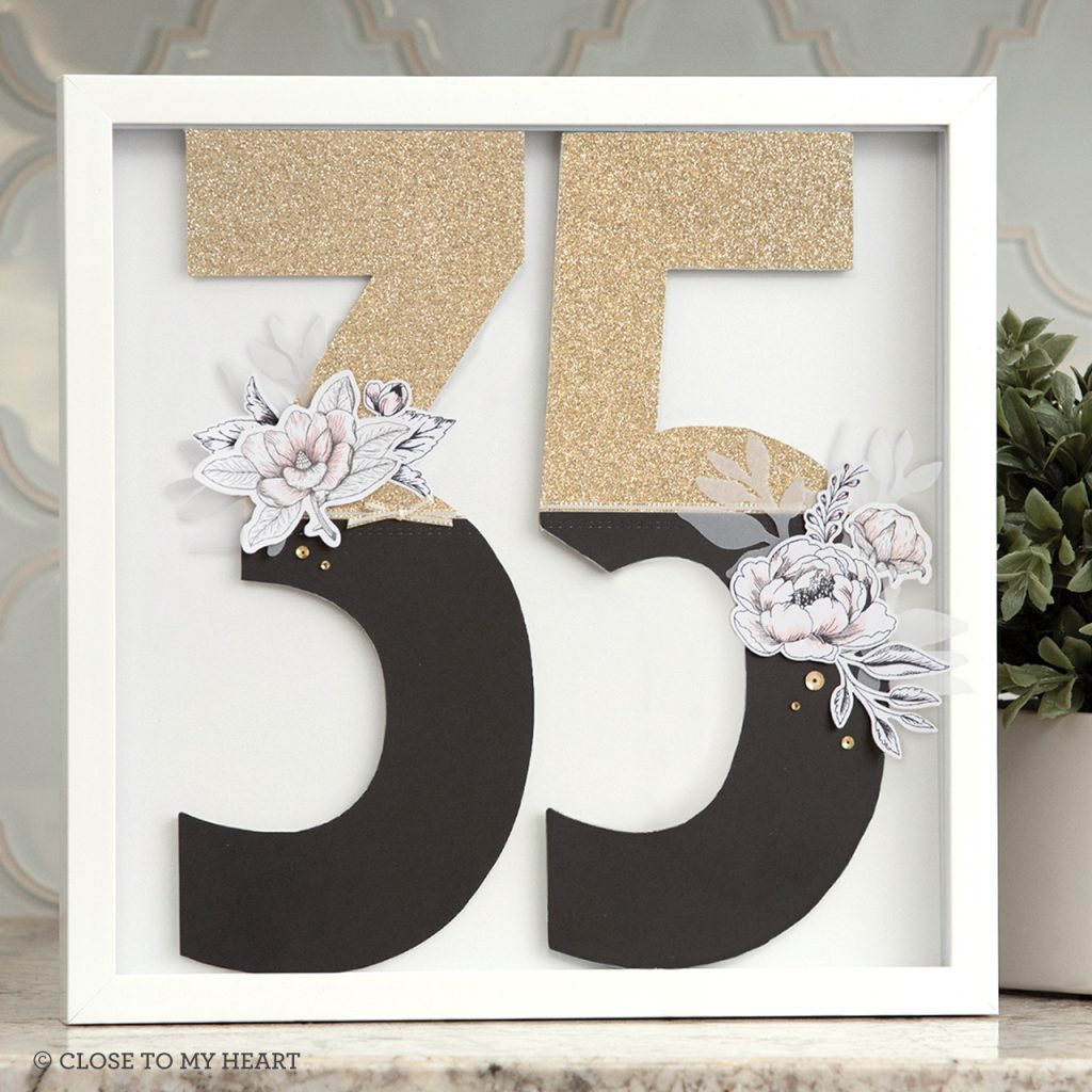 35 Monogram Chipboard Letters