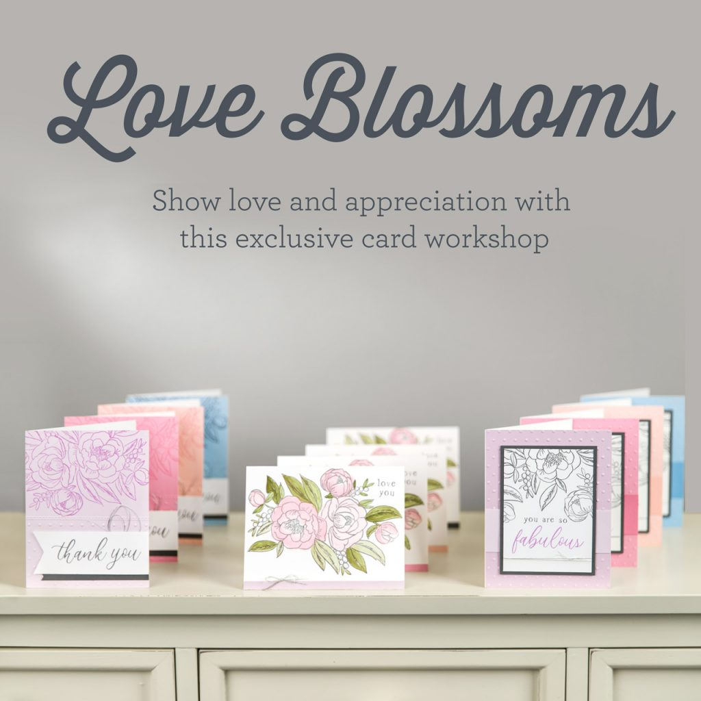 CTMH Love Blossoms Cards