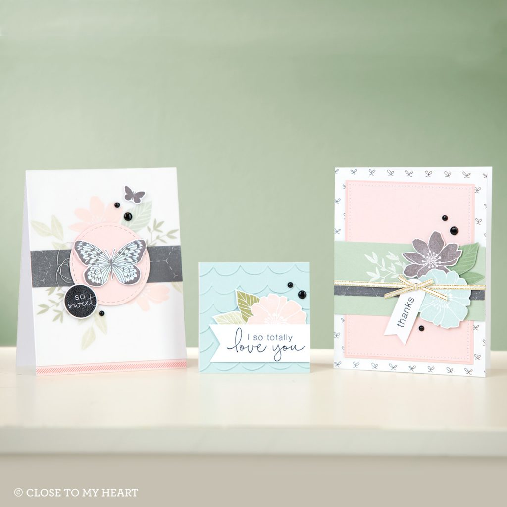 April SOTM Love So Sweet Cards