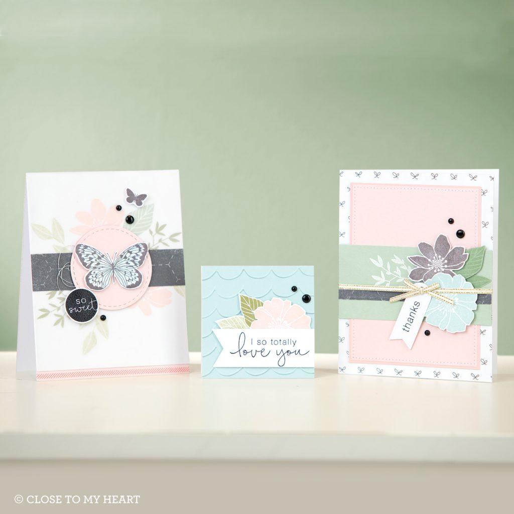 April SOTM Love So Sweet Cards