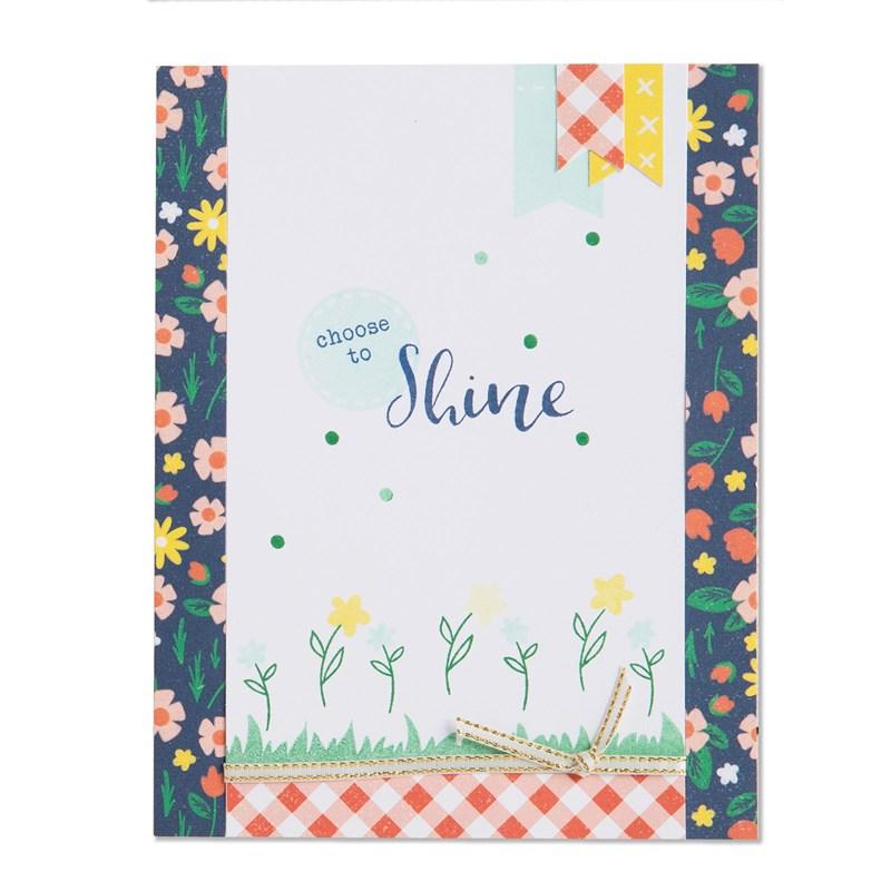 Choose to Shine Cardmaking Kit Card 1