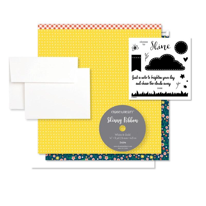 Choose to Shine Cardmaking Kit