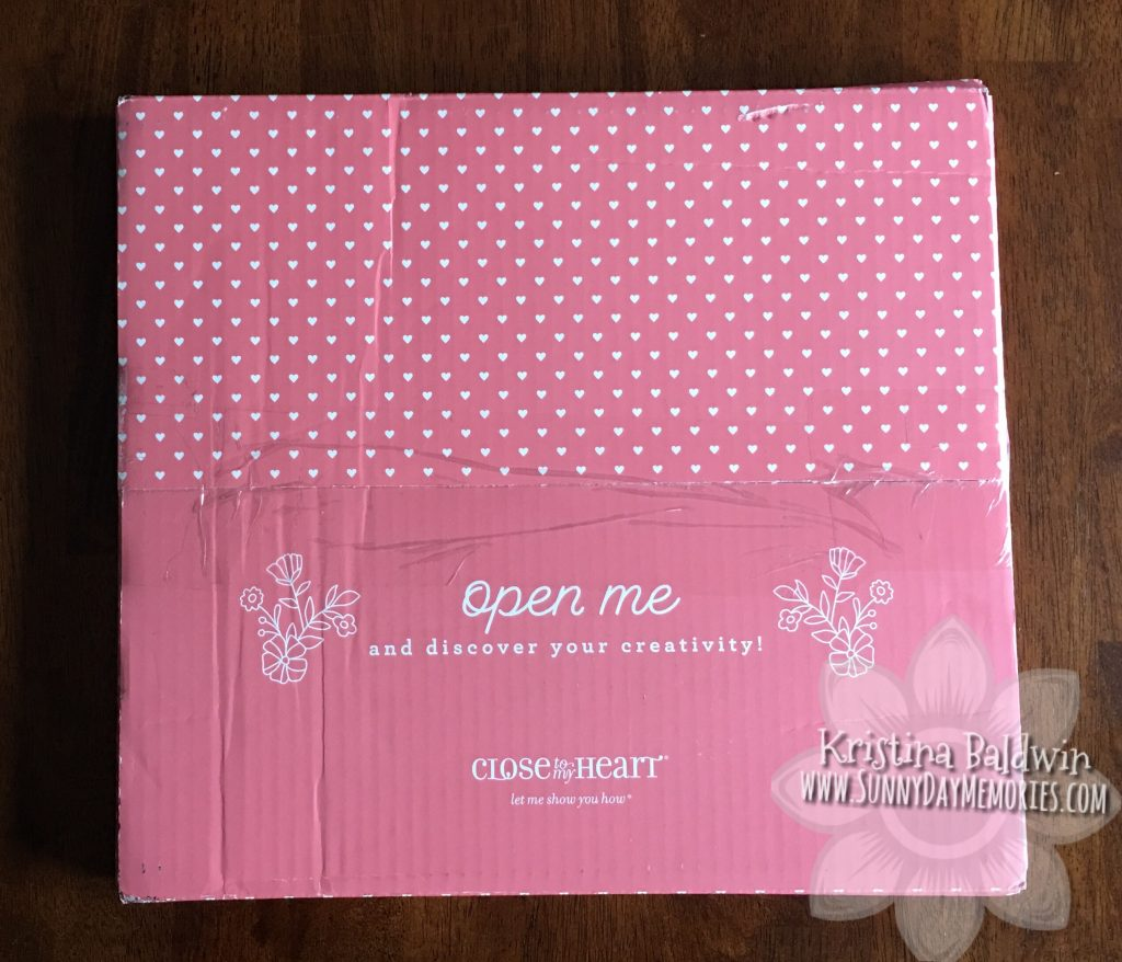 CTMH Craft with Heart box