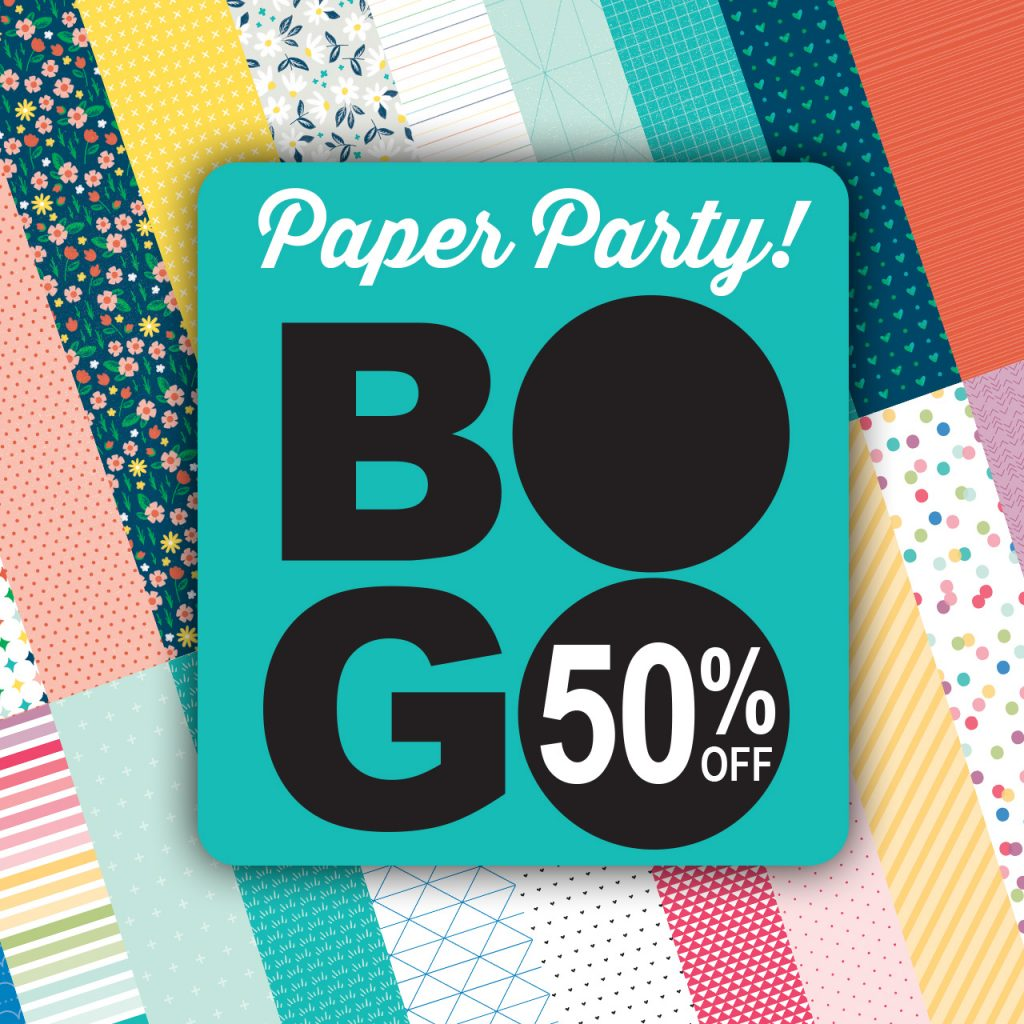 CTMH BOGO Paper Party Special