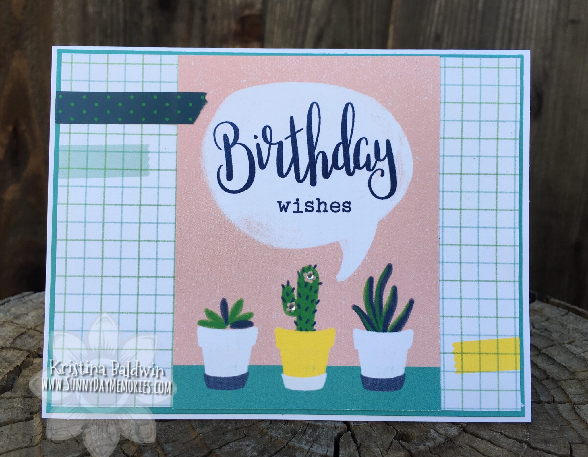 Birthday Wishes PML Card
