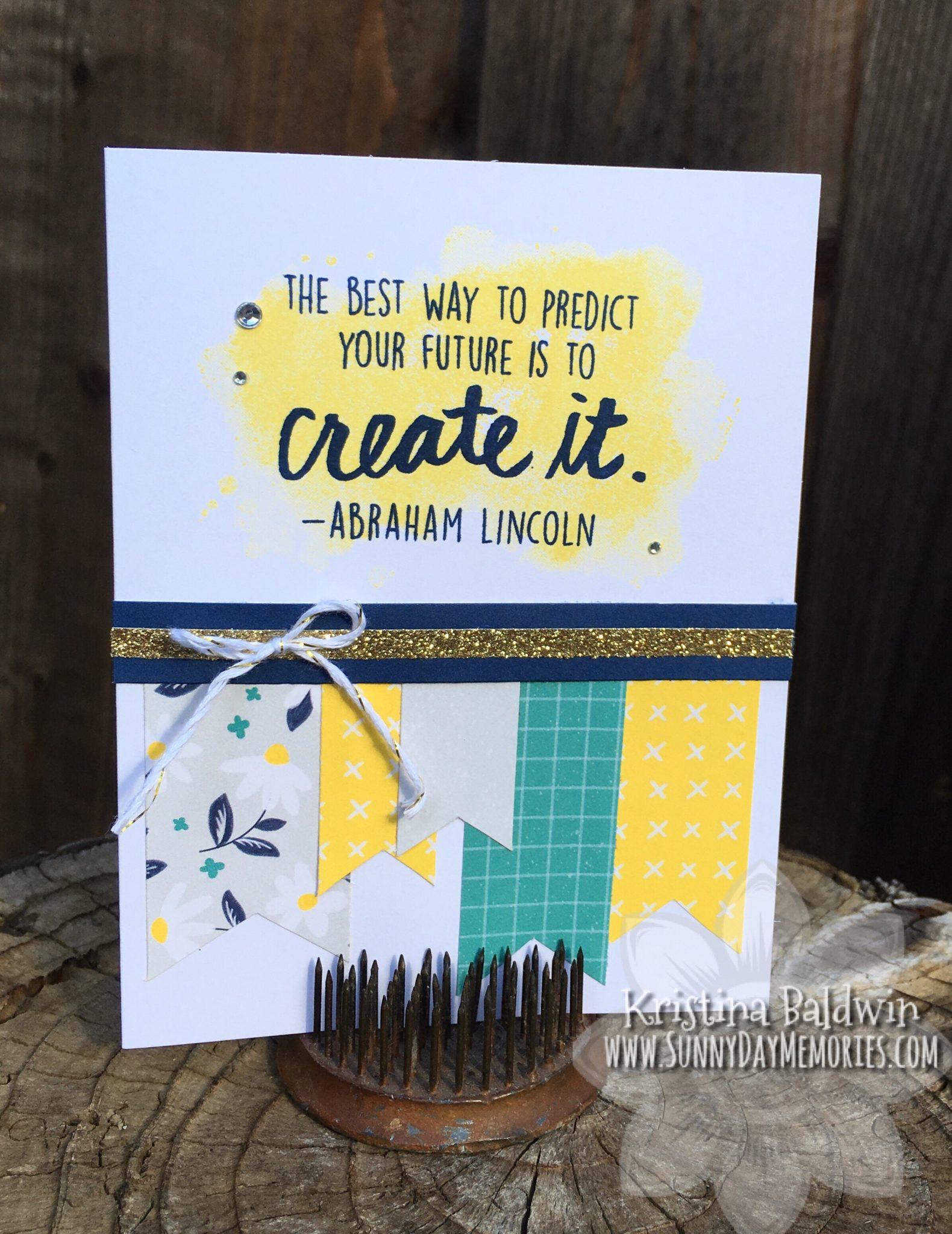 Create the Future Card