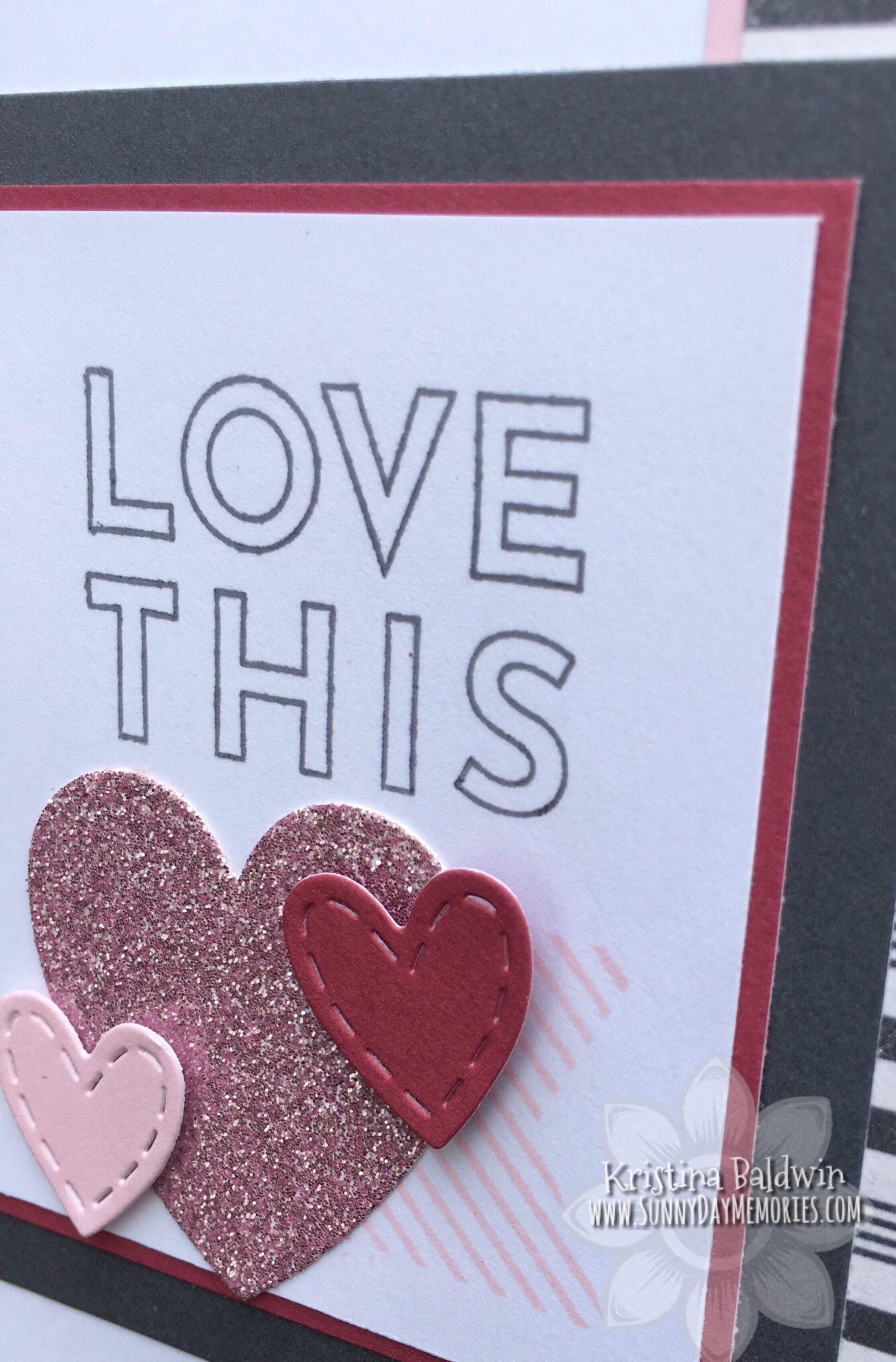Love This Card Closeup