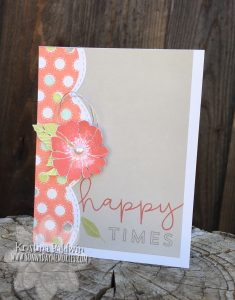 CTMH Happy Times Card