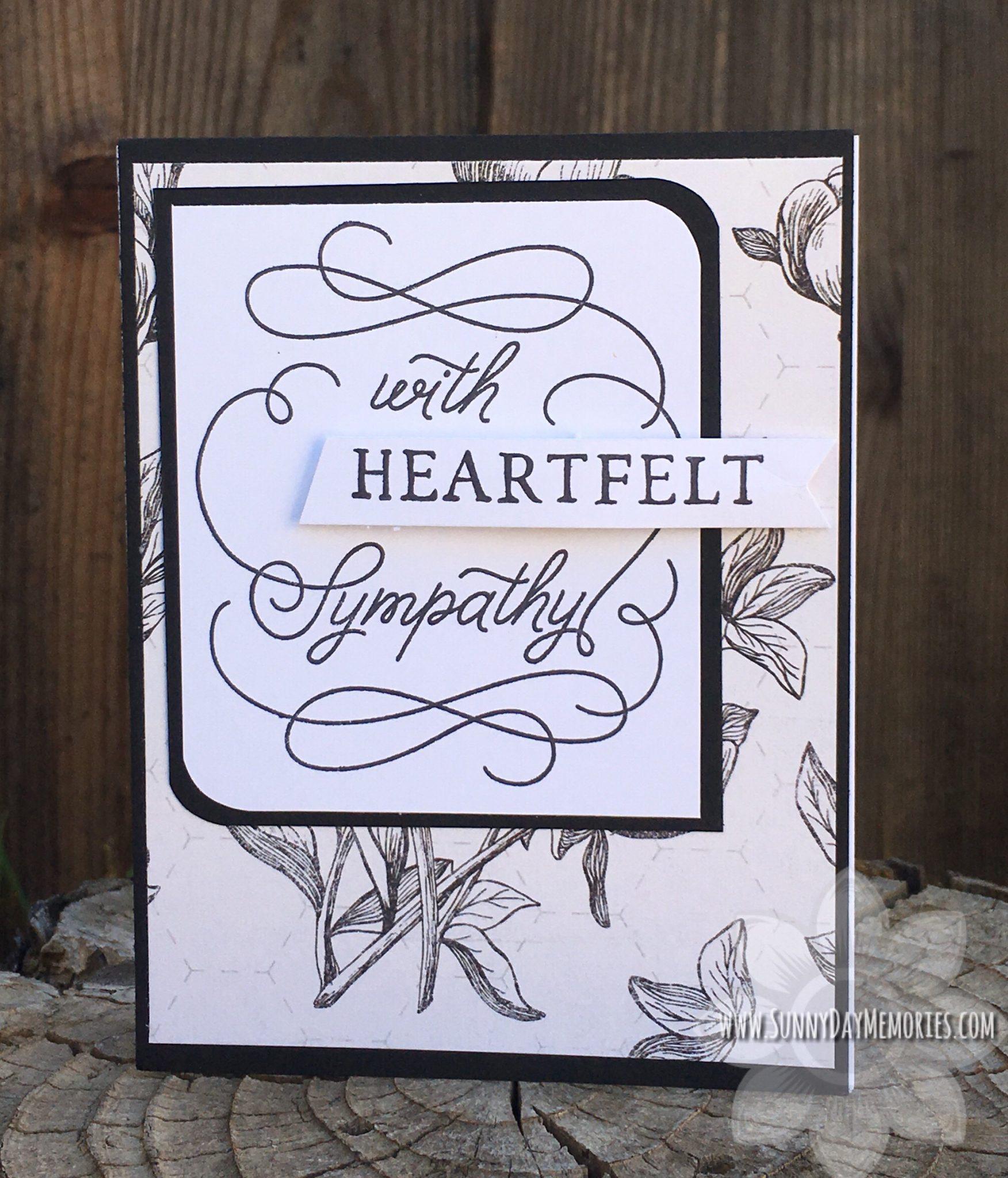 CTMH Heartfelt Sympathy Card