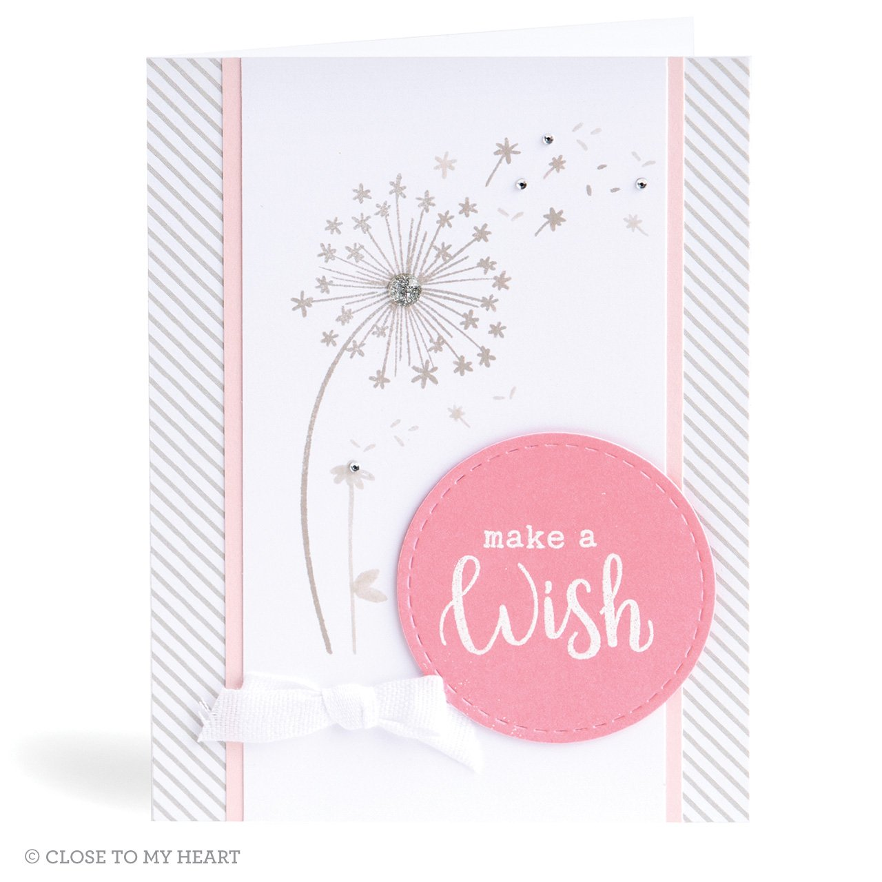 CTMH Make a Wish Dandelion Card
