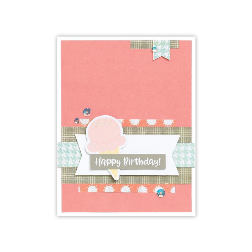CTMH Zoe Happy Birthday Card
