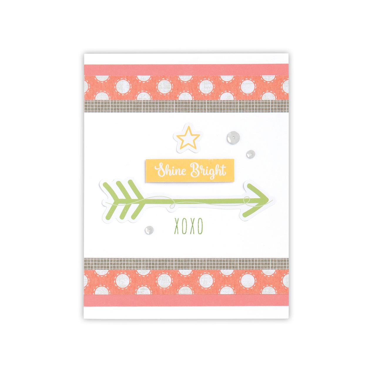CTMH Zoe Shine Bright Card