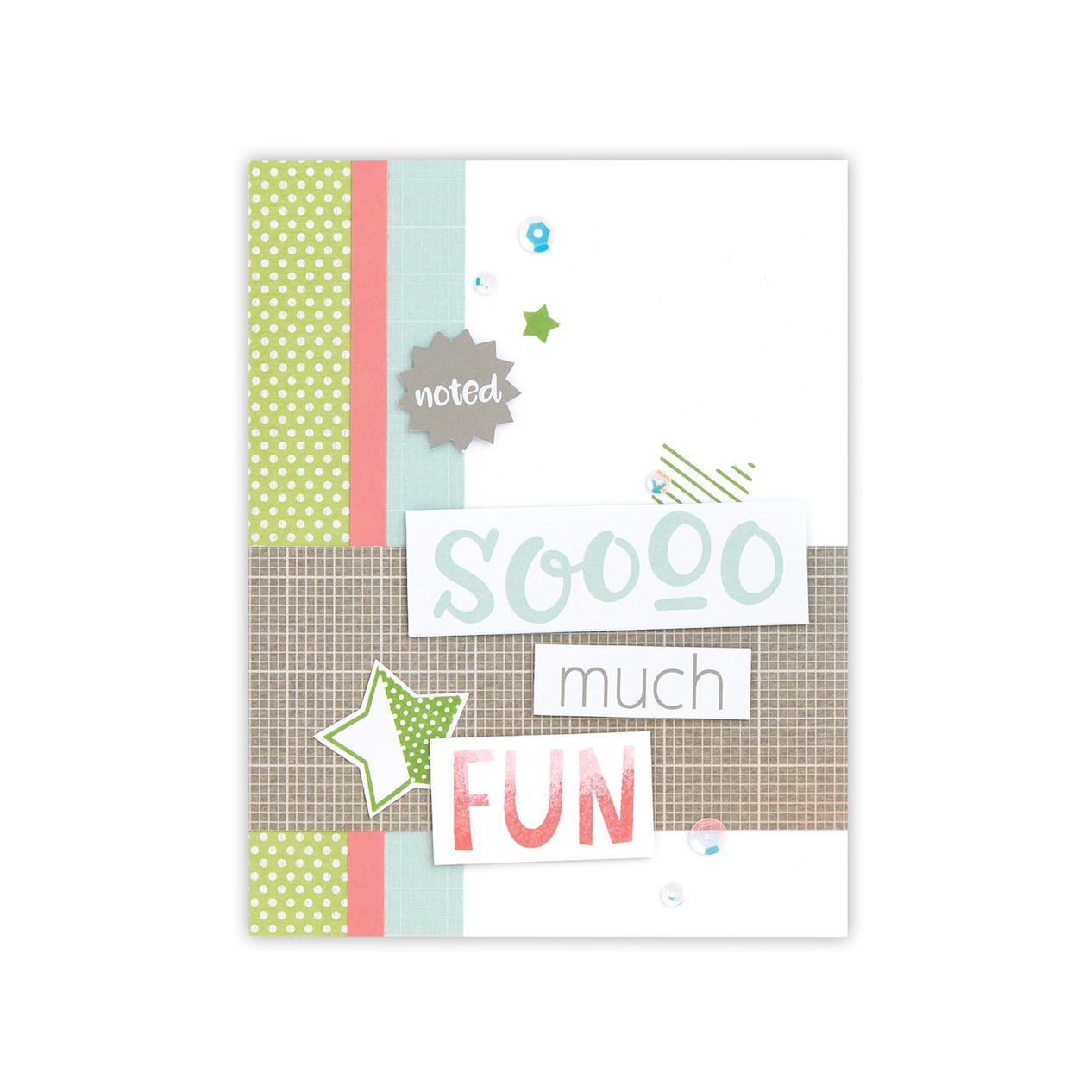 CTMH Zoe So Much Fun Card