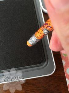 Pencil Stamping Technique