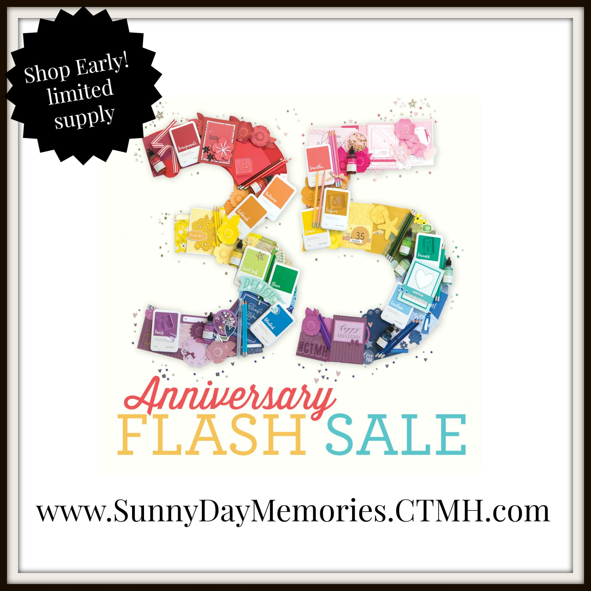 CTMH 35th Anniversary Flash Sale