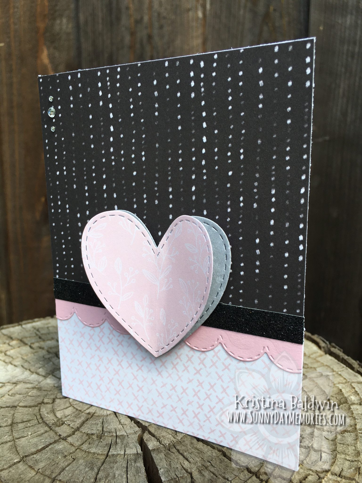CTMH Heartfelt Thinking of You Card