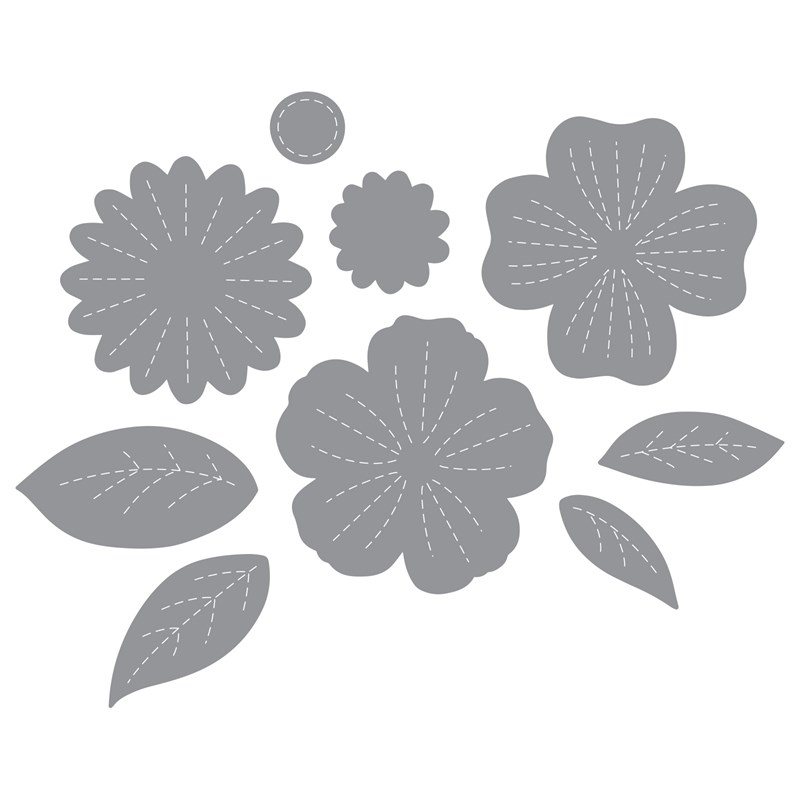 Stitched Flowers Thin Cuts Dies
