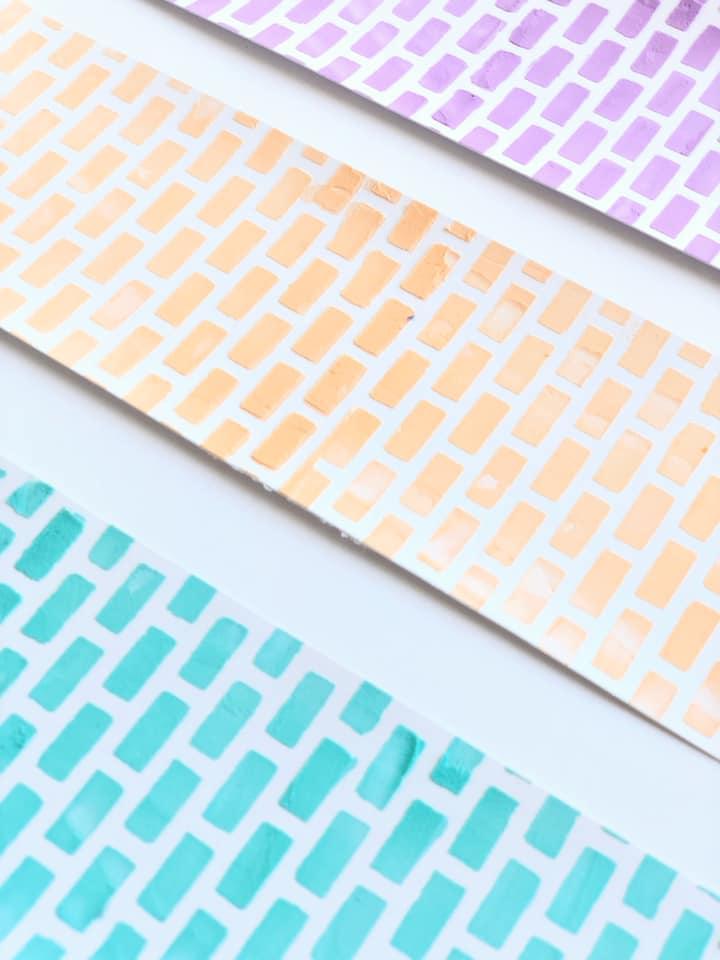 Custom Colored Texture Paste