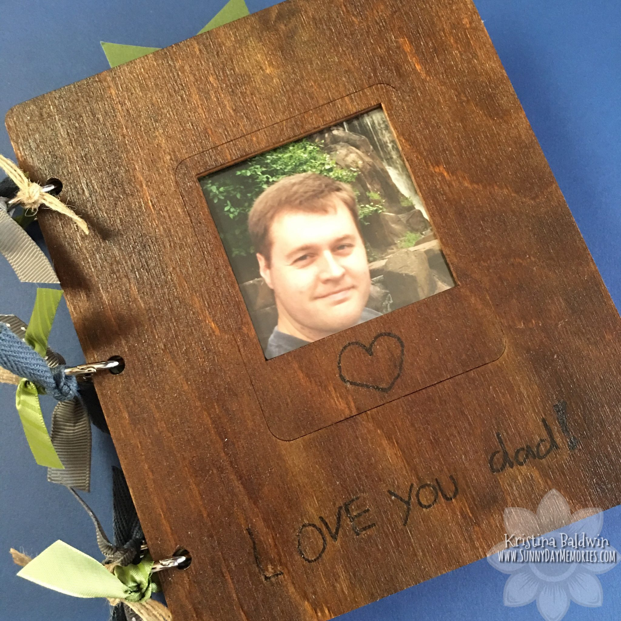 CTMH Dad Wooden Album