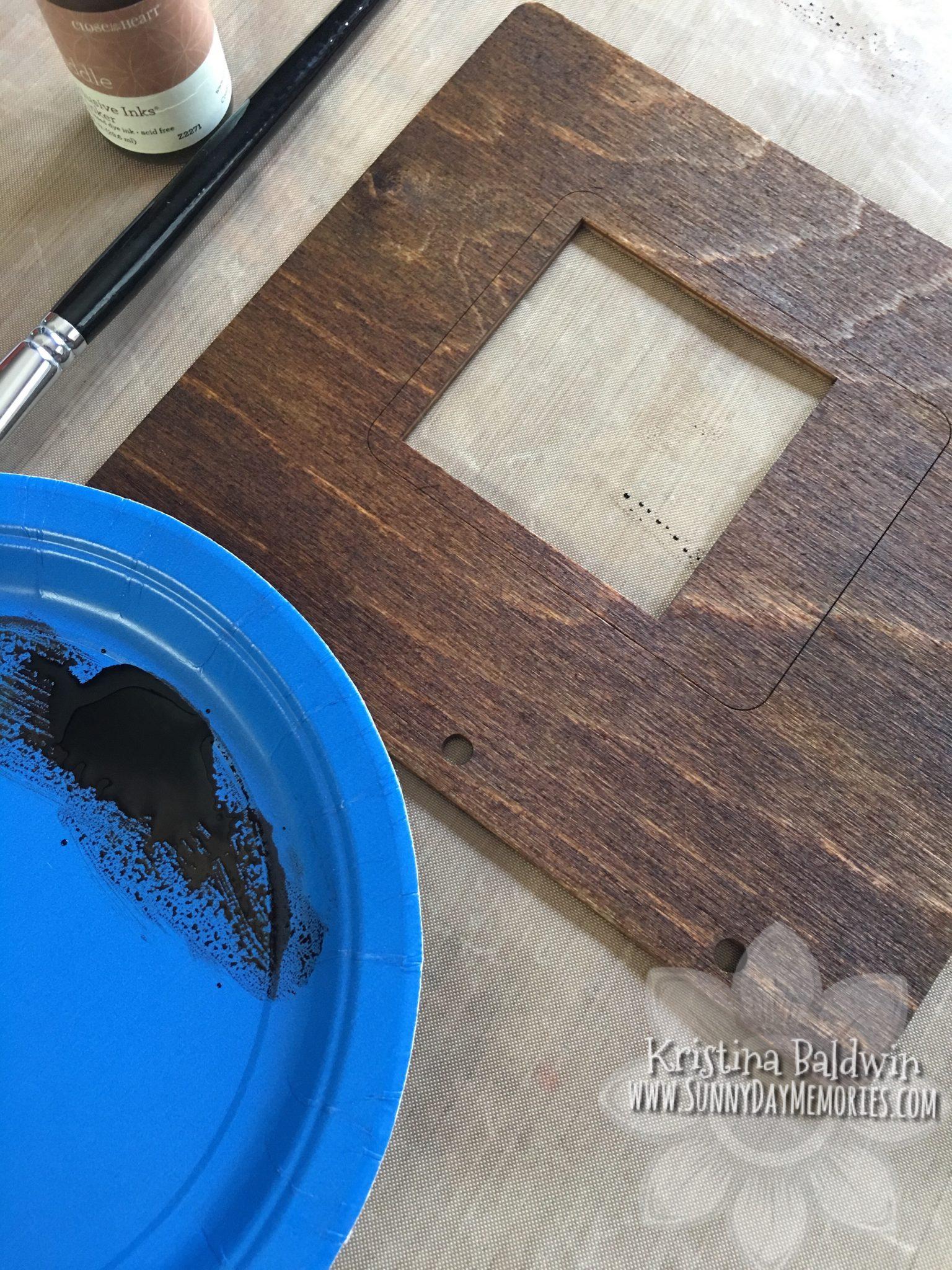 Reinker Wooden Album Process