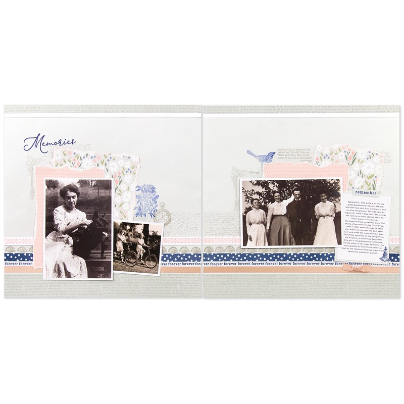 CTMH Then & Now Layout